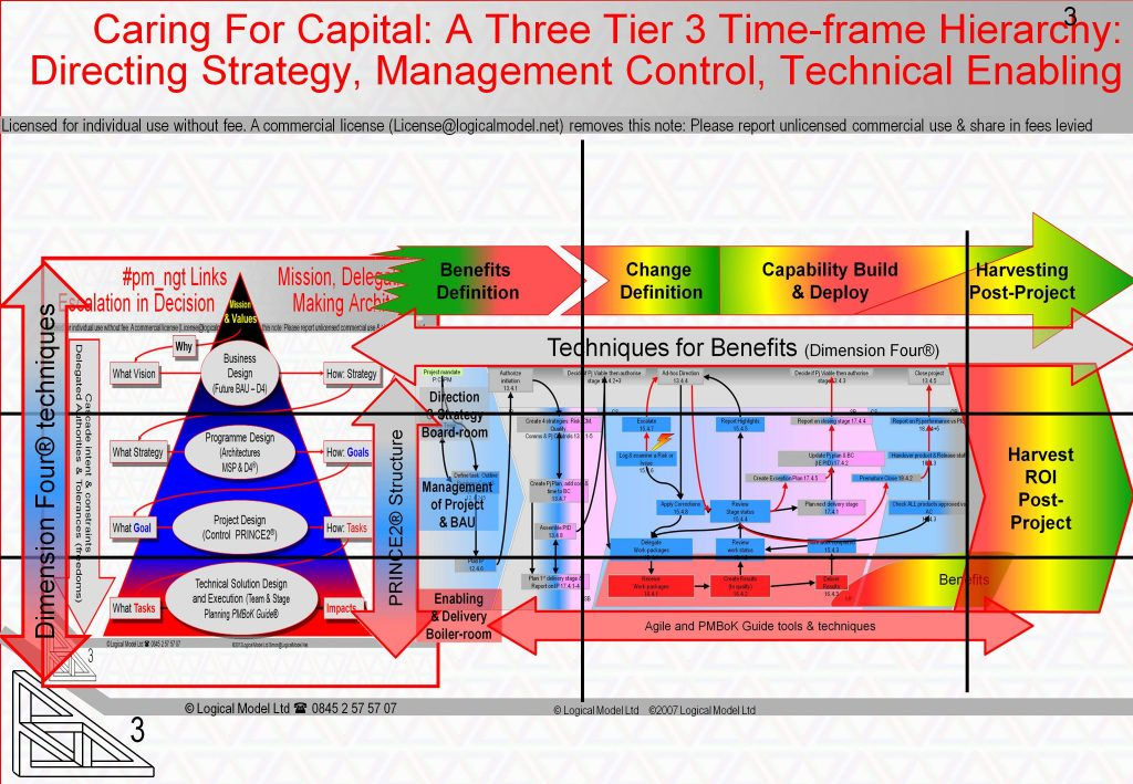 Caring For Capital: The Hierarchical and TimeLine Views